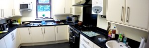 Derwent Villa Kitchen at our Residential Mental Health Care Service in Derby and Derbyshire