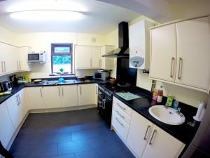 Kitchen at our Mental Health Rehab Residential Unit - Derwent Villa