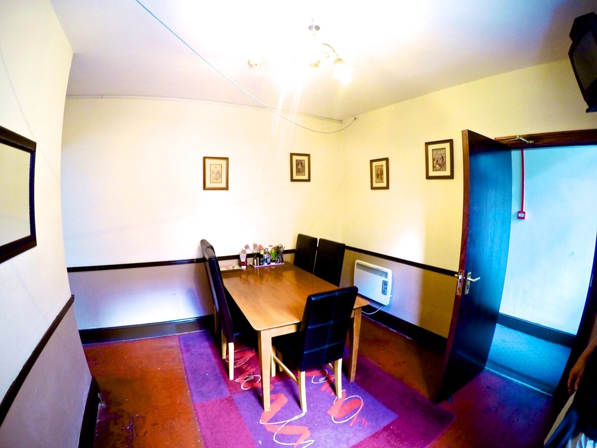 Another example of a Dining Room at one of our Mental Health Rehab Residential Units