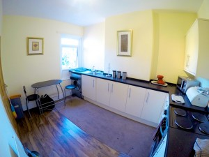 The Kitchen in our Page House Mental Health Residential Support Unit