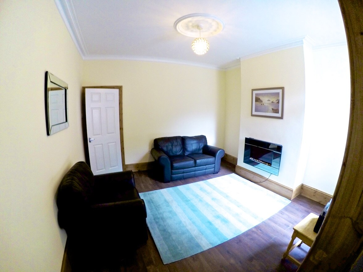 The lounge at one of our Independent Apartments at Swinburne Housing