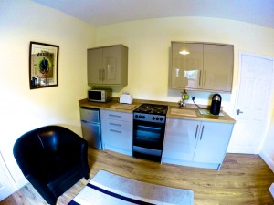 Derby Mental Health Care with Swinburne Housing - Kitchen in Flat 4 at Wade House