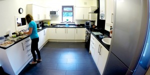 Cooking in Derwent Villa Kitchen - One of our primary mental health support units