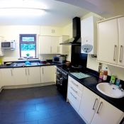 Kitchen at our Mental Health Rehab Residential Unit - Derwent Villa
